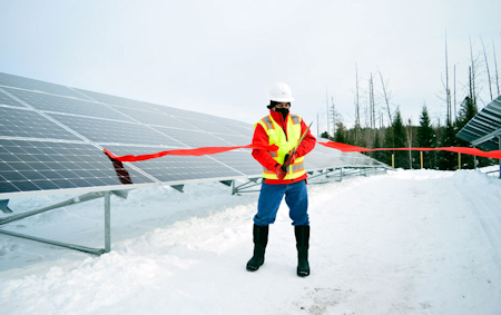 Saranac Lake Community Solar farm celebrates opening